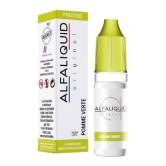 E-liquide Pomme Verte de la marque Alfaliquid