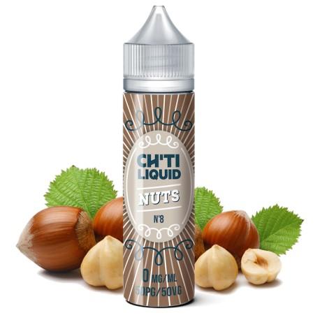 E-liquide Nuts 40ml de la marque Chti Liquid