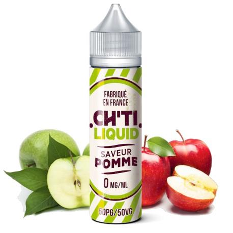 E-liquide Pomme Verte 40ml de la marque Chti Liquid